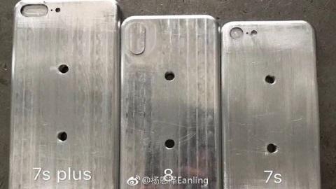 iPhone 8 ve iPhone 7s'lerin kasa kalıpları görüntülendi
