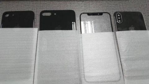 iPhone 8 ön ve arka paneli internete sızdı