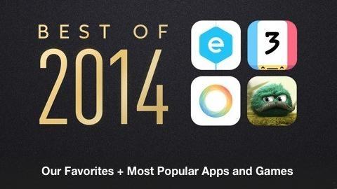 iPhone ve iPad için 2014'ün en iyi uygulama ve oyunları belli oldu