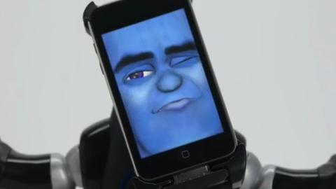 Apple iPhone için robot çalar saat