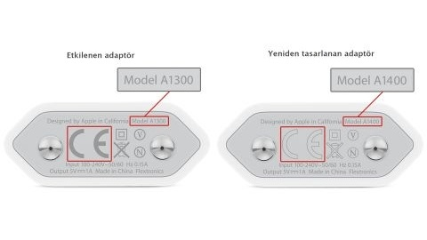 Apple, hatalı iPhone şarj aletleri için değişim programına başladı