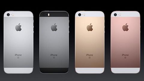 Apple A9 çipsetli 4 inçlik iPhone SE resmen tanıtıldı