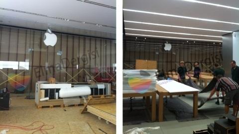 Apple Store Akasya AVM'nin mağaza içi görüntüleri yayımlandı