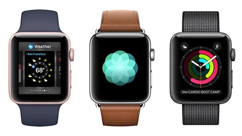 50 metreye kadar su geçirmez Apple Watch 2 duyuruldu