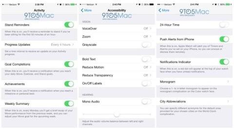 Apple Watch uygulaması detaylandı