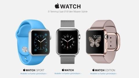 Apple Watch Türkiye fiyatı ve çıkış tarihi belli oldu