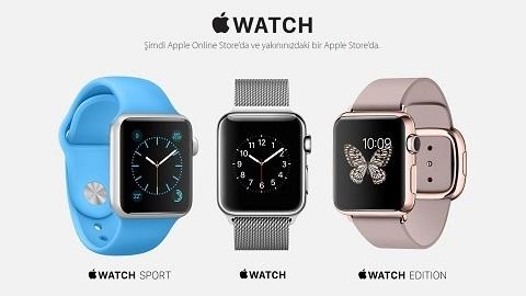 Apple Watch ülkemizde satışa çıktı