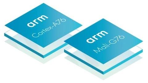 ARM, yeni nesil A76 işlemci ve G76 GPU tasarımını tanıttı