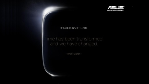 ASUS'un Android akıllı saati IFA 2014'te tanıtılacak