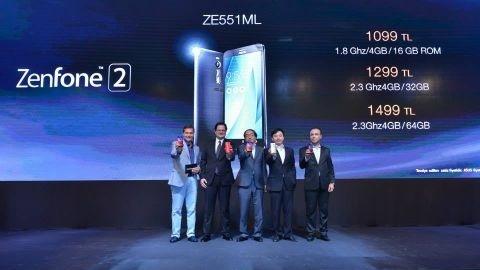 ASUS ZenFone 2 Türkiye fiyatı resmen açıklandı