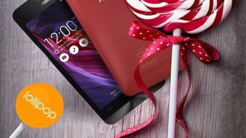 ASUS ZenFone 4, 5, 6 için Android 5.0 güncellemesi Türkiye'de