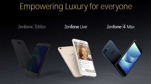 ASUS ZenFone 4, ZenFone 4s ve ZenFone 4 Max geliyor