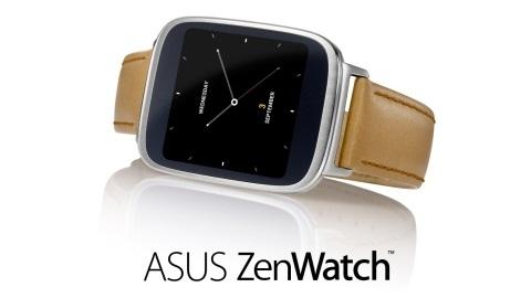 Kavisli camla korunan AMOLED ekranlı ASUS ZenWatch tanıtıldı