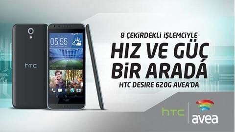 Avea HTC Desire 620G Cihaz Kampanyası