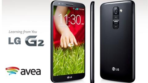Avea LG G2 Cihaz Kampanyası