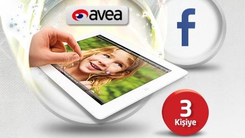 Avea Mobil Ödeme Facebook Çekiliş Kampanyası 3 kişiye iPad hediye ediyor