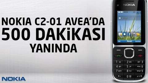 Avea Nokia C2-C1 kampanyası