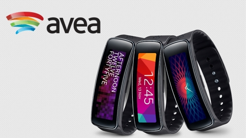 Avea Samsung Galaxy Gear Fit Kampanyası