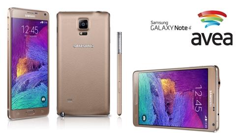 Avea Samsung Galaxy Note 4 Kampanyası