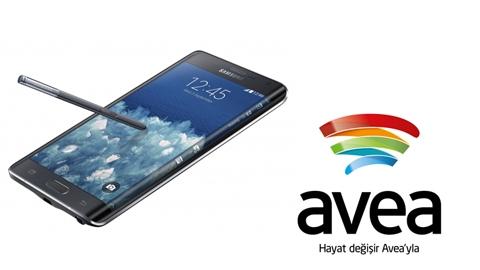 Avea Samsung Galaxy Note Edge Kampanyası