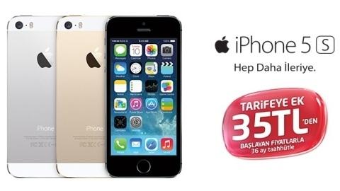 Avea'nın iPhone 5s ve iPhone 5c kampanyası