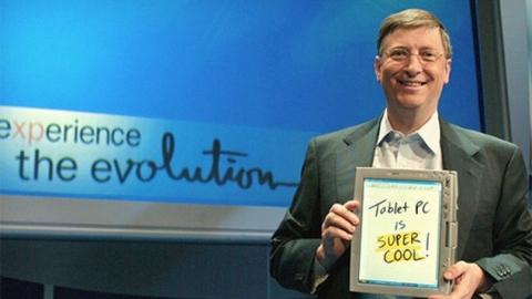Bill Gates iPad kullanıcılarının sıkıldığını iddia ediyor