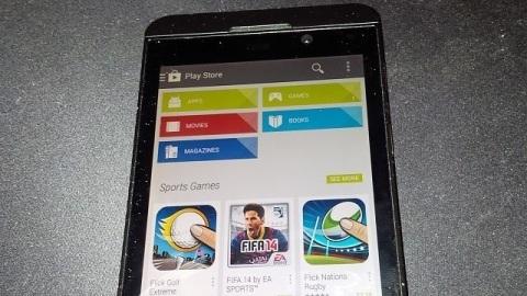 BlackBerry 10.2.1 sürümü Google Play Store ile birlikte dağıtılabilir