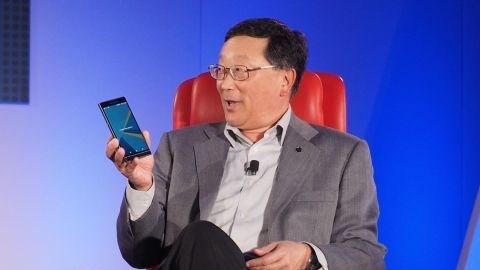 BlackBerry CEO'su BlackBerry Priv ve gelecek planları hakkında konuştu