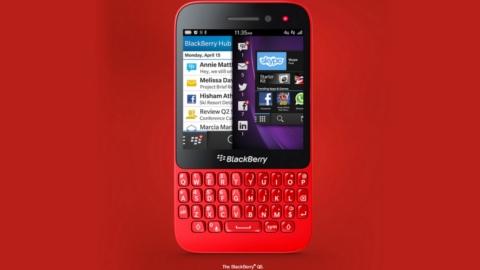 BlackBerry Q5 resmi olarak tanıtıldı