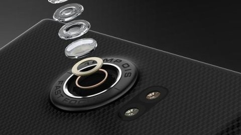 Esnek OLED ekrana sahip kızaklı BlackBerry Venice'ten basın görselleri
