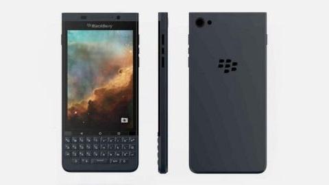 Android işletim sistemli yeni bir BlackBerry telefonu görüntülendi