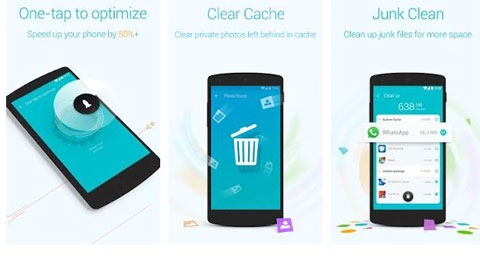Booster & Cleaner Android Uygulaması