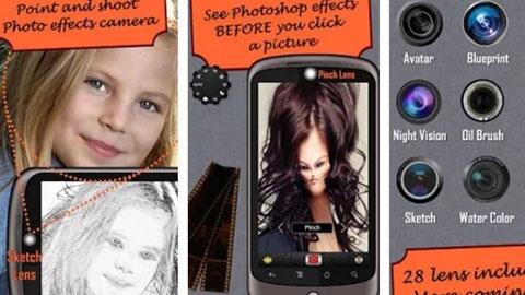 Camera Fun Pro Android Uygulaması