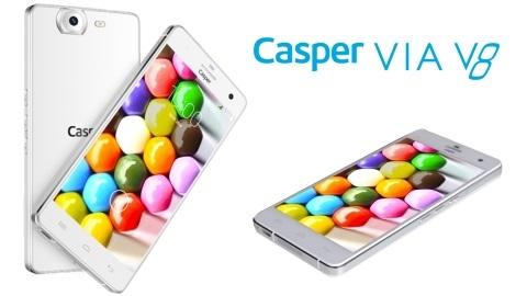 Sekiz çekirdekli Casper Via V8 çıktı