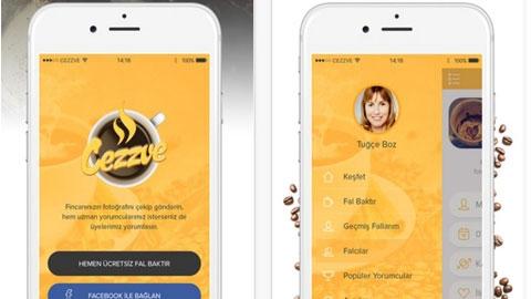 Cezzve iOS Uygulaması