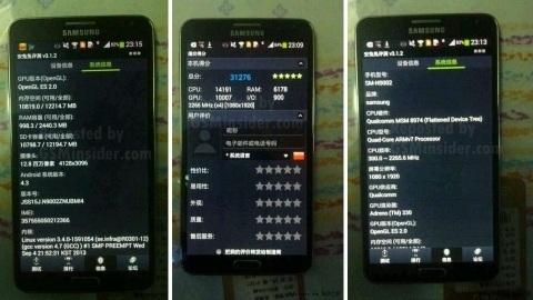 Çift SIM kart destekli Galaxy Note 3 görüntülendi