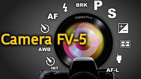 Cinema FV-5 Android Kamera Uygulaması