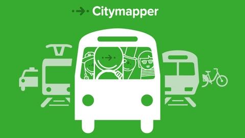 Citymapper Android Uygulaması