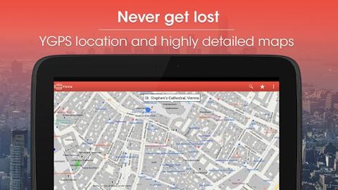 CityMaps 2Go Offline Maps Android Uygulaması