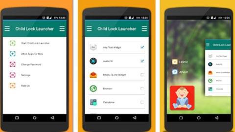 Çocuk Kilidi - Child Lock Android Uygulaması