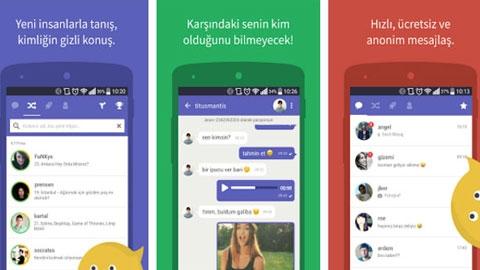 Connected2.me iOS Sohbet Uygulaması