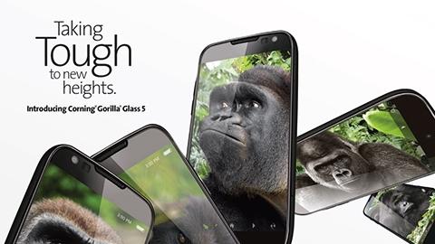 Corning'in yeni dayanıklı camı Gorilla Glass 5 duyuruldu