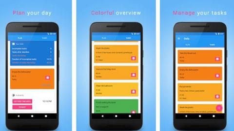 Daily Android Görev Zamanlama Uygulaması