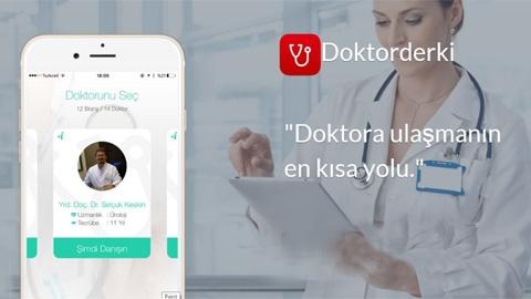 Doktorderki iOS Uygulaması