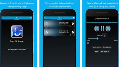 Dream Talk Recorder Android Uygulaması