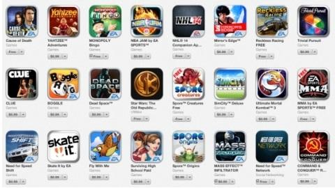 Electronic Arts'ın iPhone ve iPad oyunları kısa süreliğine indirimde