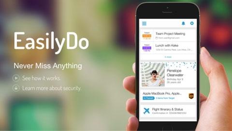 EasilyDo iOS Kişisel Asistan Uygulaması