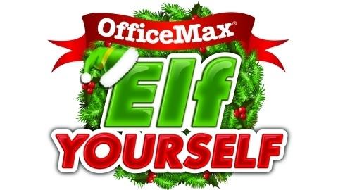 ElfYourself OfficeMax yılbaşı için hazır