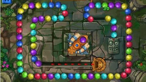 En Yeni Android Bulmaca Oyunu : Zuma Efsane