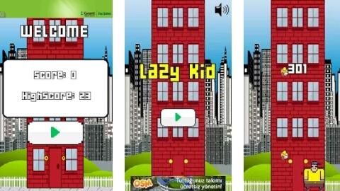 Android telefonlar için oyun tavsiyesi: Lazy Kid